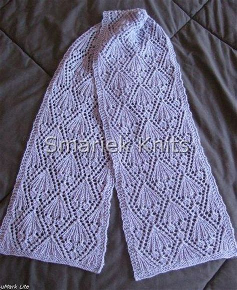 pattern for lace yarn petra lace scarf knit in fingerling weight yarn by