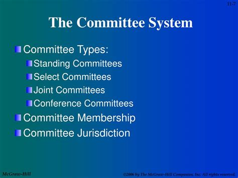 The Jurisdiction Of Standing Committees by Ppt Chapter 11 Powerpoint Presentation Id 688498