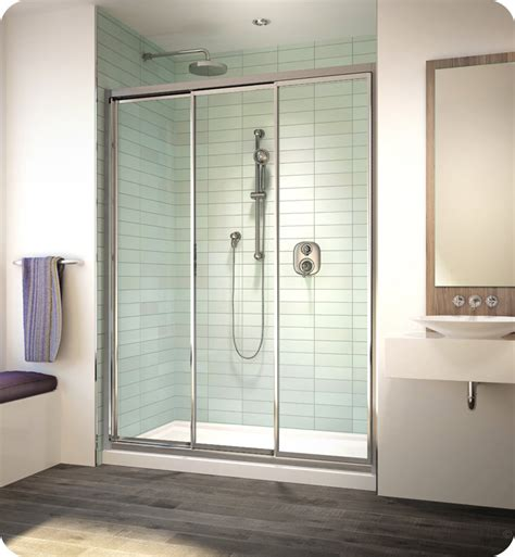 banyo shower doors fleurco eg48 banyo lombardi 3 bypass sliding shower