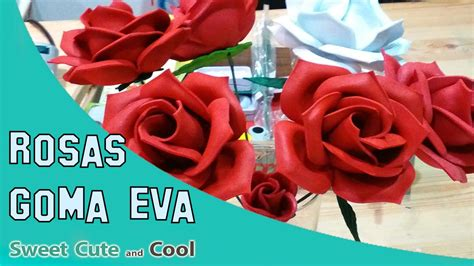 como hacer flores de goma eva como hacer flores con goma eva o foam termoformado con