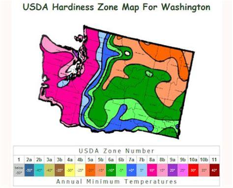 washington preppers network usda hardiness zone map for - Gardening Zones Washington State