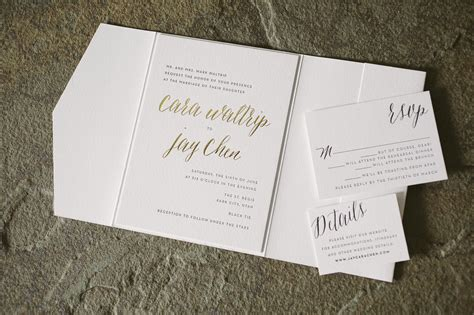 black and gold wedding invitations nz rustic wedding invitations in black and gold foil figura