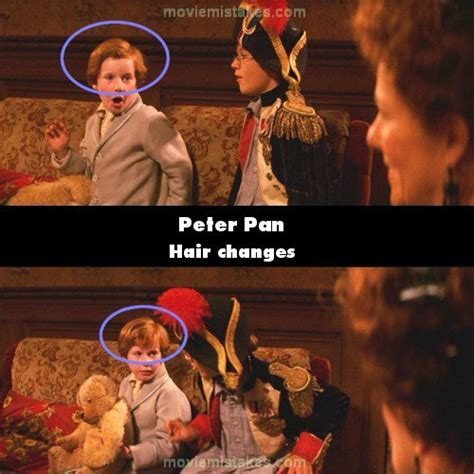 peter pan   mistake picture id