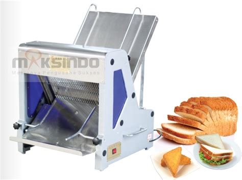 Pisau Pemotong Roti Tawar mesin pengiris roti tawar terbaru bread slicer toko mesin maksindo