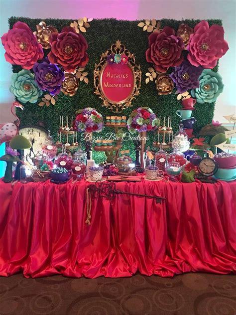 Alice In Wonderland Qui Eanera Party  Ee  Ideas Ee   Of