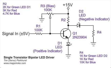 bipolar transistor led driver electro view topic a collection of led drivers