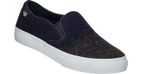 Slip On On19 Putih 2 burch rudi slip on navy olive sneaker in blue lyst