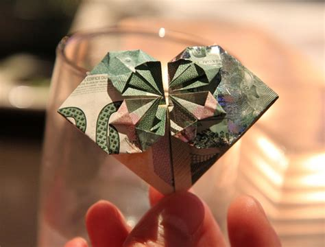 Canadian Money Origami - canadian 20 banknote folded into you can give the