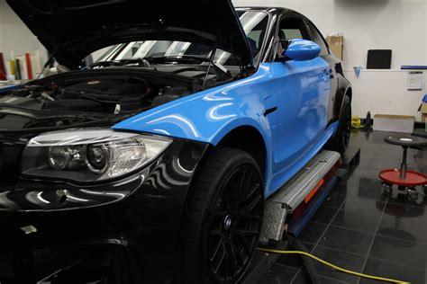 Bmw 1er Matt Blau by Bmw 1er M Coup 201 In Light Blue Mit Schwarz Matten Extras