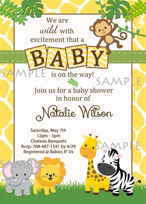 baby animals baby shower theme 25 best ideas about jungle baby showers on