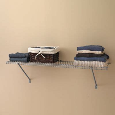 buy closet wire shelving from bed bath beyond