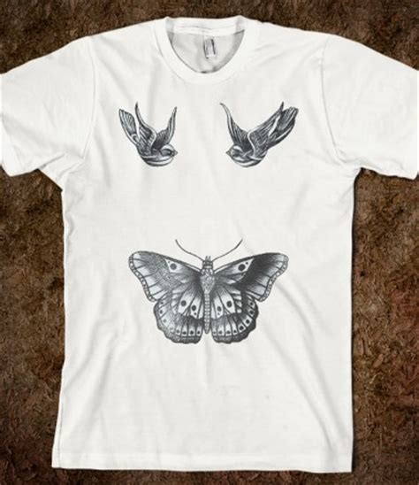 t shirt tattoo harry styles harry styles tattoos swallows butterfly one