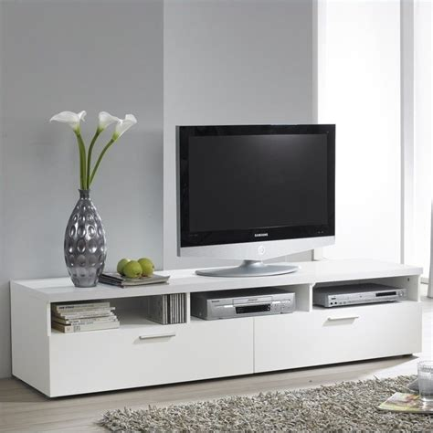 White Tv Console Table 71 quot tv stand in white 7417649