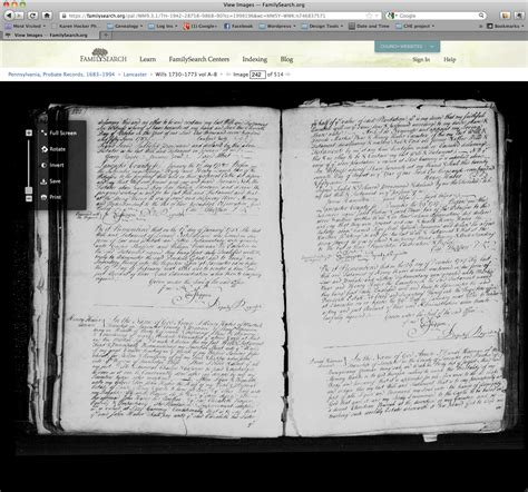 Pennsylvania Probate Court Records How To Use The Pennsylvania Probate Records On Familysearch