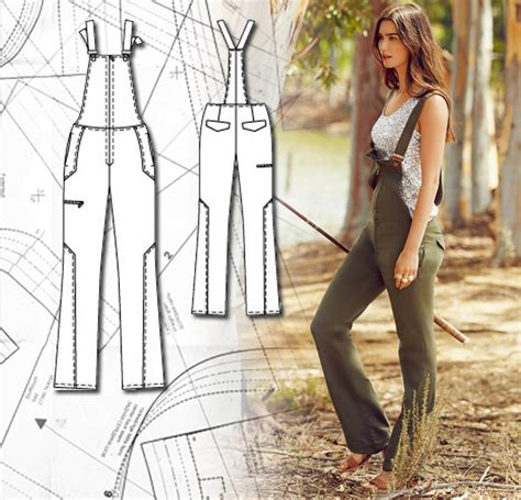 sewing pattern overalls sewing lesson how to make overalls sewing blog