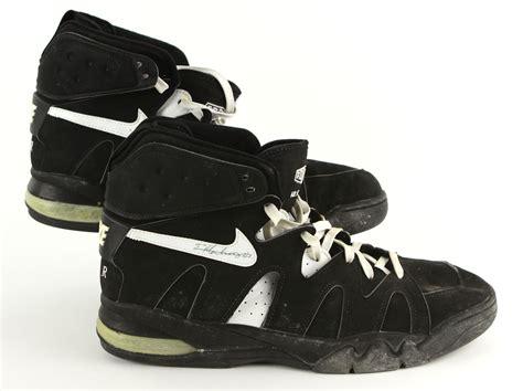 basketball shoes boston lot detail 1994 96 eric montross boston celtics signed