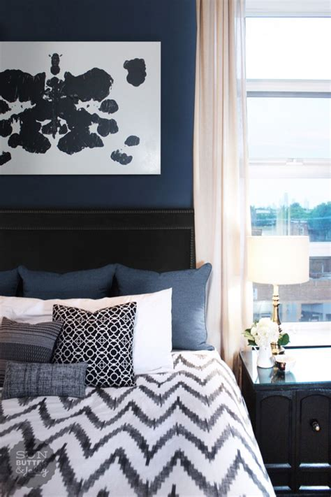 Navy Blue Bedroom Ideas | 20 marvelous navy blue bedroom ideas