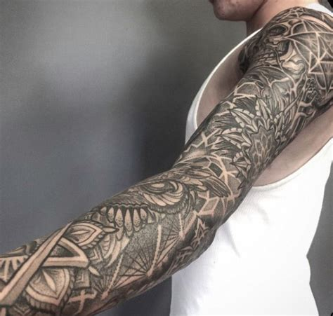 sacred geometry sleeve tattoos www pixshark com images