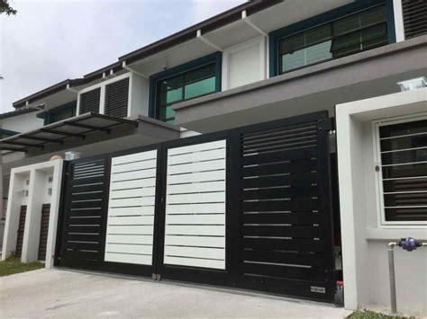 modern house steel gate modern steel gates for houses 2018 athelred