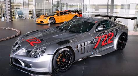 mclaren mercedes 722 mercedes mclaren slr 722 gt trophy 12 made cars