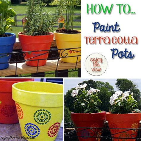 paint projects on pinterest painted flower pots 76 best images about terracotta clay pot crafts on