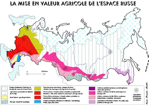 agricole russe russie g 233 ographie
