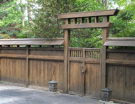 631 best japanese fence and gates images on pinterest japanese gate japanese gardens and
