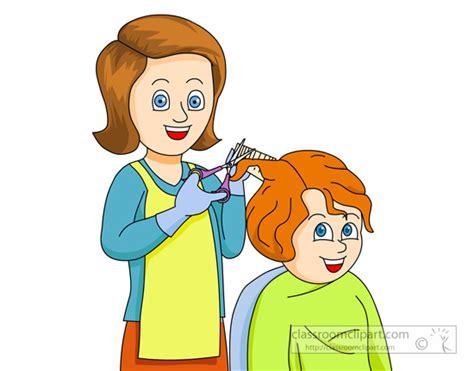haircut clipart free hair dresser clipart