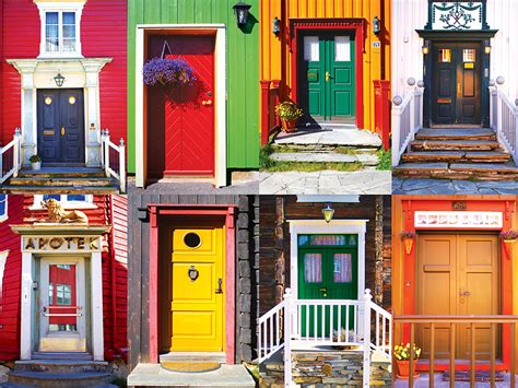 colorful doors colorful doors jigsaw puzzle puzzlewarehouse com