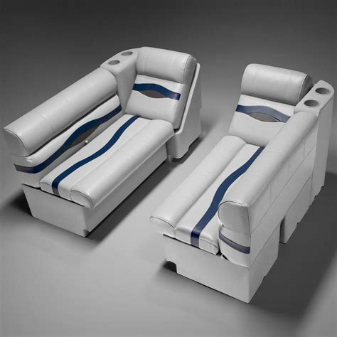 luxury pontoon boat seats pontoon boat seats pfg55b pontoonstuff