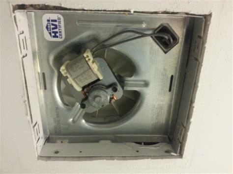 Bathroom Exhaust Fan Not Pulling Much Air Hvac Diy