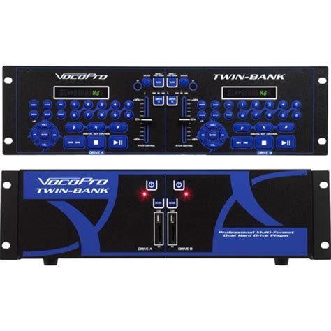 best multi format player vocopro professional multi format dual drive player