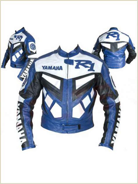 Jaket Black Biker Leather Exklusif Sk 62 yamaha r1 motorcycle leather jacket