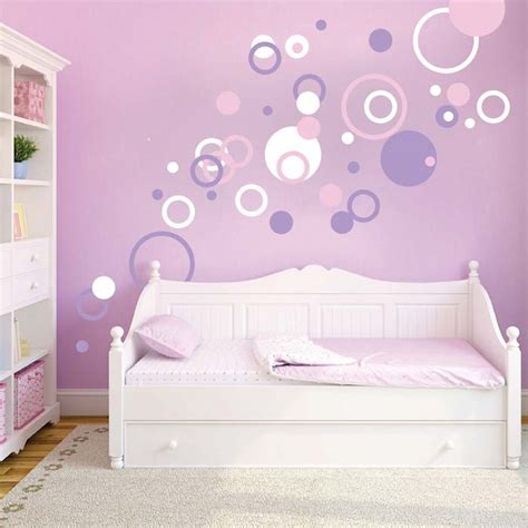 trendy wall design dots and rings wall art designs trendy wall designs