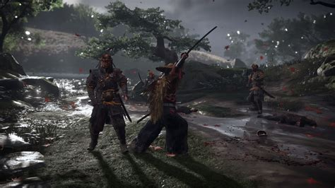ghost  tsushima dev working  authenticity ps