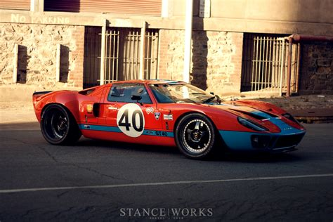 gulf gt40 reunited a pair of australian ford gt40s stance works