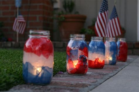 4th of july backyard decorations 4th of july ideas for outdoor decorating rustic crafts chic decor