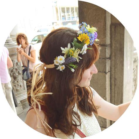 Blumenkranz Binden by Blumenkranz Selber Machen Mit Kunstblumen Curls