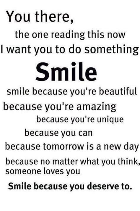 inspirational quotes    smile quotesgram