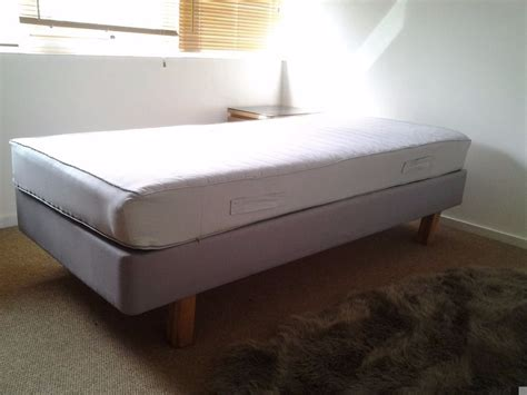 bed base ikea ikea sultan single bed base with mattress in clifton bristol gumtree