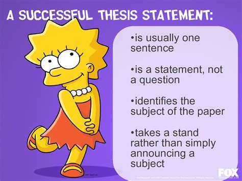 does a thesis to be one sentence course alt diploma prep tips and tricks