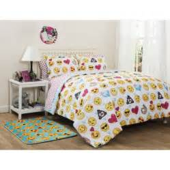 Emoji pals bed in a bag bedding set online only walmart com