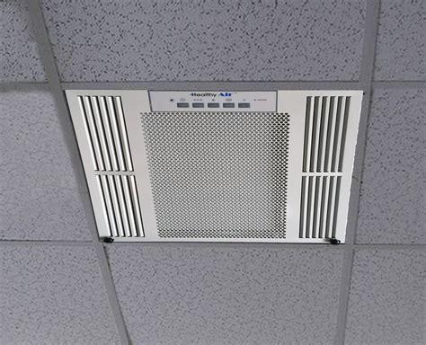 ceiling air purifier healthy air ceiling mount air purifier by aerovex systems