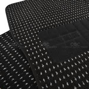 Berber Carpet Floor Mats Black Heavy Duty Woven Berber Carpet Car Floor Mats Fit 4