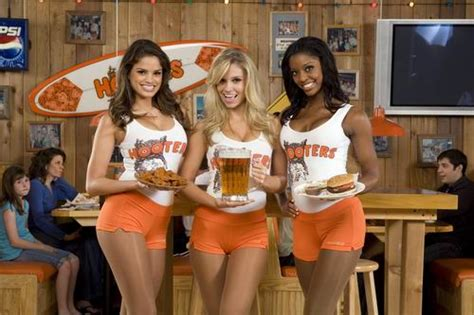 back of the house and top of mind hooters big waitresses pretty and jokes