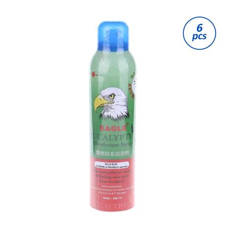 jual caplang eucalyptus disinfectant spray eds 280 ml 6