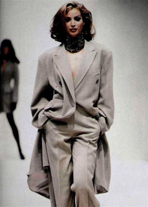 Style Turlington by Vintage Turlington For Jil Sander F W 1992