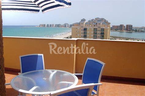 apartamento en alquiler en  linea de playa la manga del mar menor san javier san javier