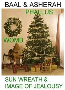 asherah the christmas tree custom