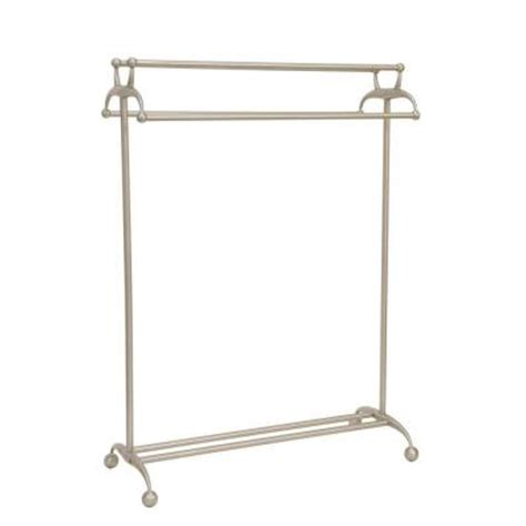 moorefield beacon freestanding towel rack in brushed